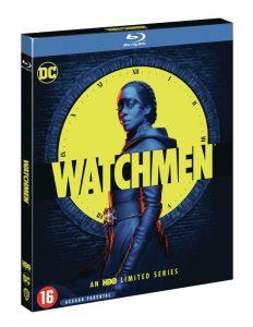 Watchmen HBO serie recensie - blu-ray packshot