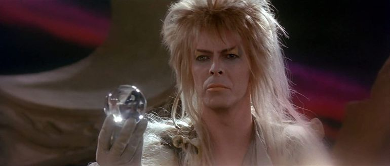 David Bowie als Jareth the Goblin King