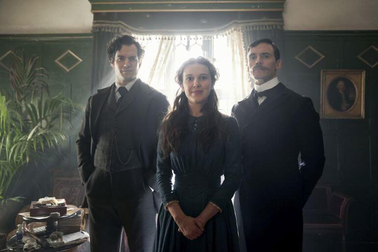 Enola Holmes recensie - Sherlock Elona en Mycroft