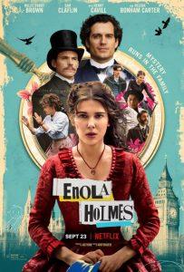 Enola Holmes recensie - poster