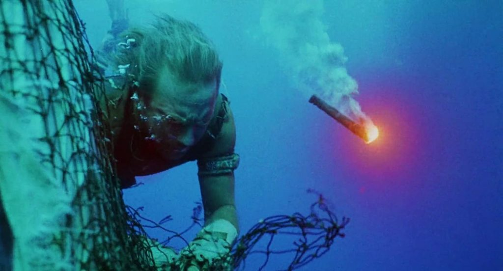 Kevin Costner als The Mariner