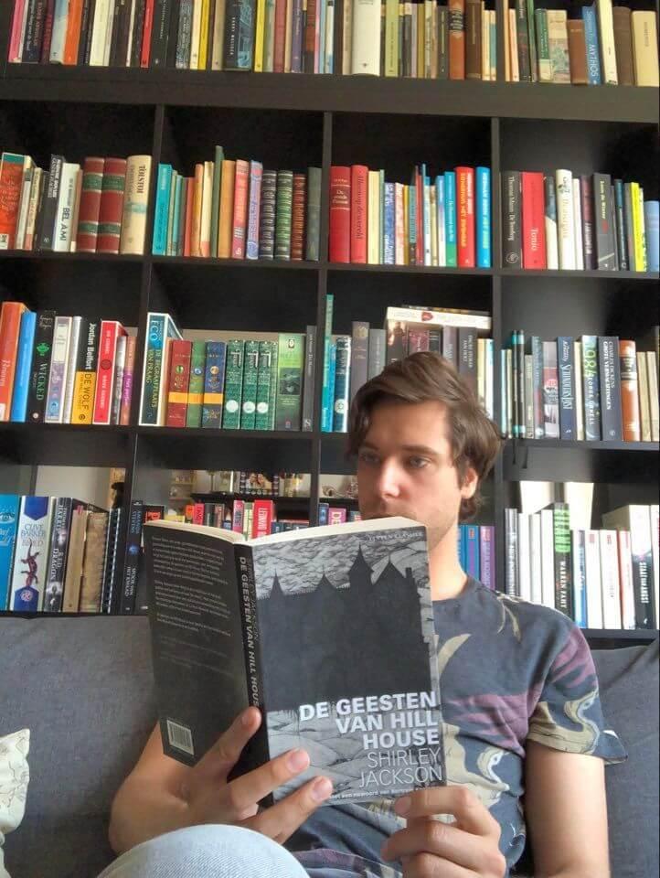 Daniel leest De Geesten van Hill House