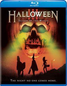 Top 5 Halloween filmtips - Halloween III Season of the Witch blu-ray