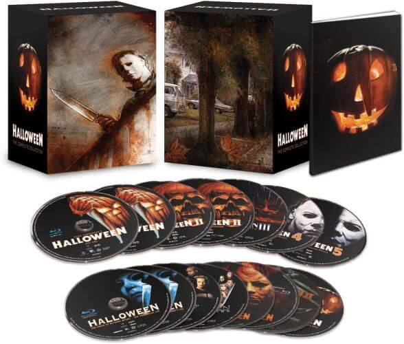 Halloween 2020 tips voor thuis - Halloween The Complete Collection blu-ray