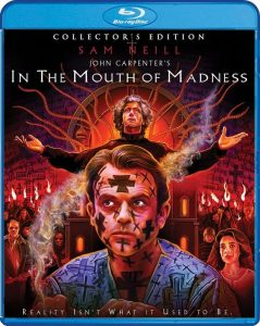 Top 5 Halloween filmtips - In the Mouth of Madness blu-ray