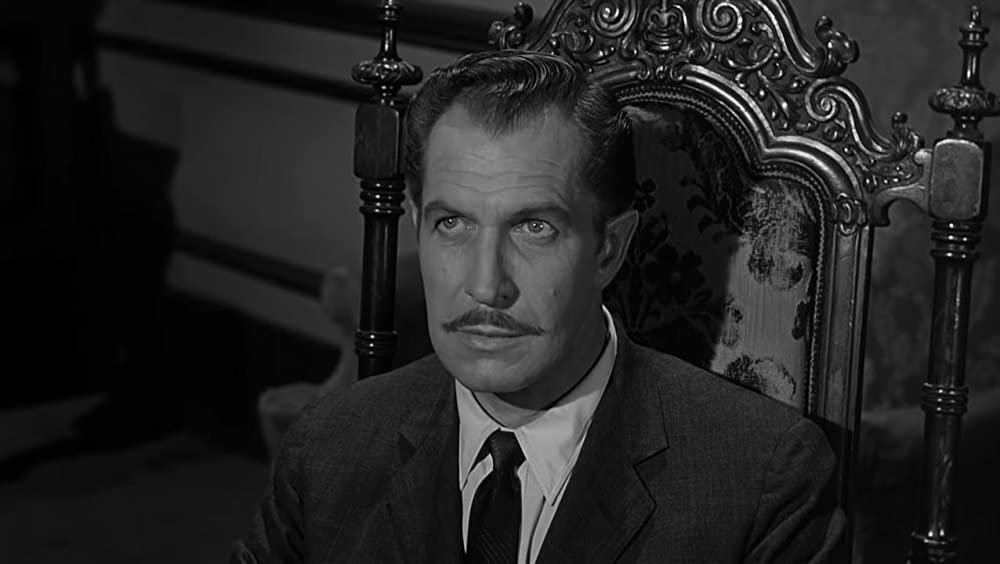Top 5 Vincent Price horrorfilms - House on Haunted Hill