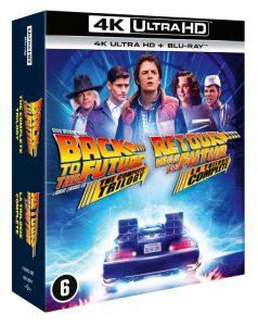 Back To The Future Trilogy recensie - 4K UHD packshot