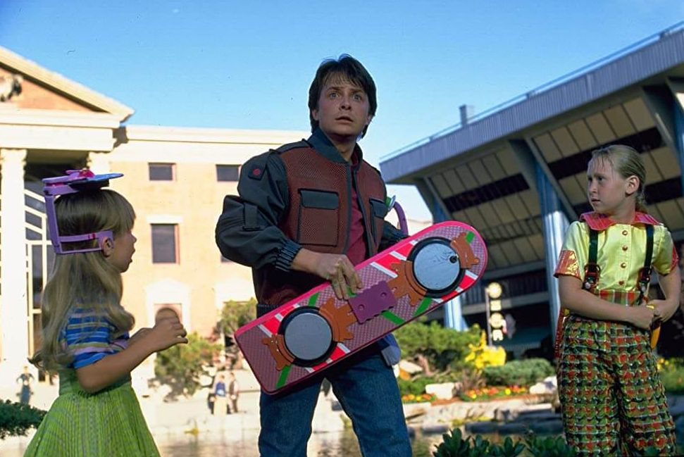 Back to the Future trilogy recensie - Het hoverboard