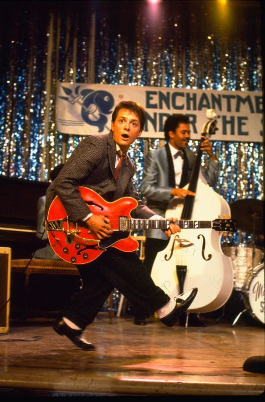 Marty doet Chuck Berry