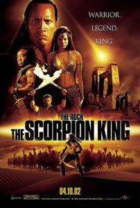 Modern Myths Nieuws 2020_ Week 45 – 46 - The Scorpion King poster