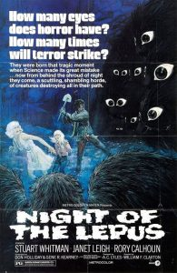 Night of the Lepus - poster