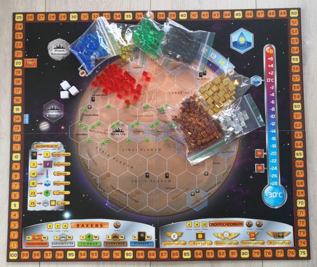 Terraforming Mars - Spelbord