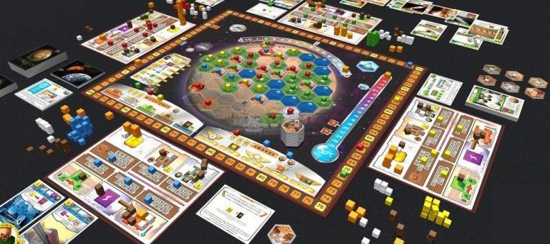 Terraforming Mars bordspel - overzicht