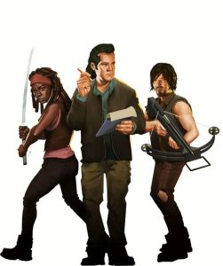 Bridge Constructor The Walking Dead recensie – Michonne, Daryl en Eugene