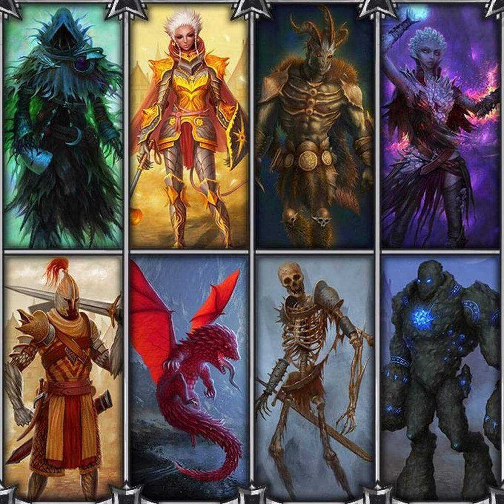 Gloomhaven character artwork