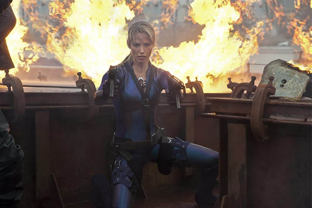 Jill Valentine in Resident Evil Retribution