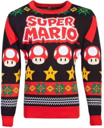 Geeky kerst trui - Mario kersttrui