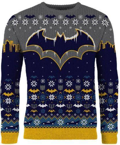 Modern Myths Merchandise - Geeky kerst trui - Batman kersttrui