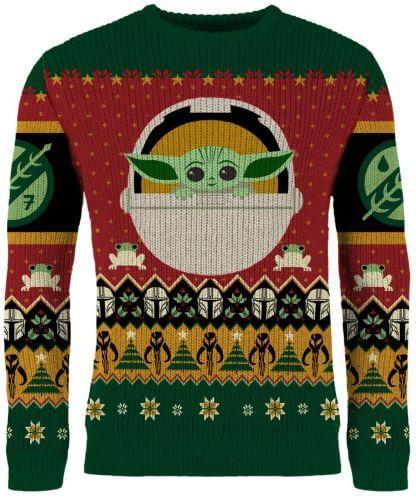 Modern Myths Merchandise - Geeky kerst trui - Star Wars Grogu kersttrui