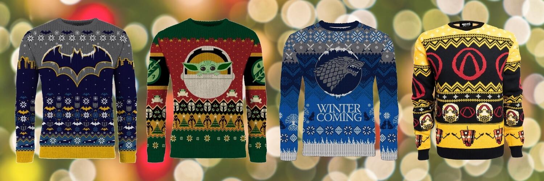 Modern Myths Merchandise - Geeky kerst trui