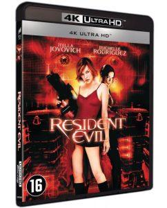 Resident Evil 4K UHD packshot