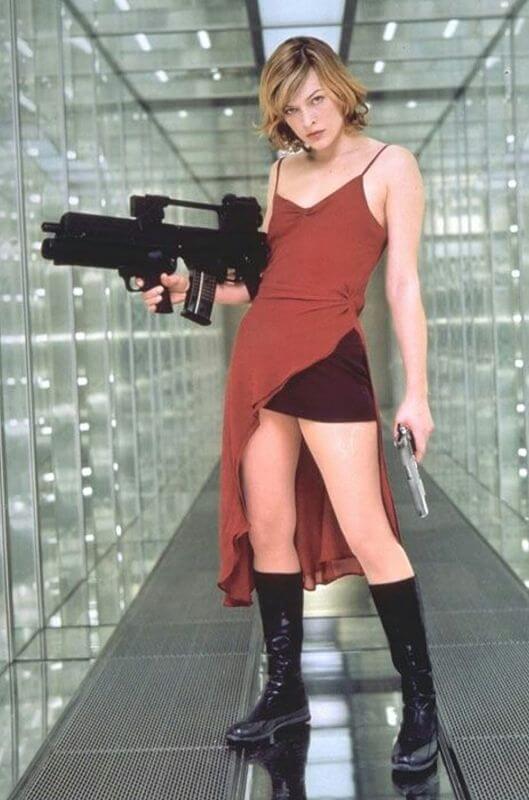 Resident Evil 4K UHD recensie - Alice