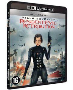 Resident Evil Retribution 4K UHD packshot