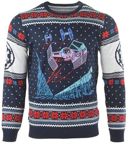 Star Wars Tie Fighter kersttrui