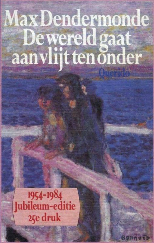 Top 5 Nederlandse genreliteratuur - De Wereld gaat aan vlijt ten onder - door Max Dendermonde