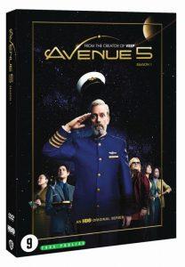 Avenue 5 recensie - dvd seizoen 1 packshot