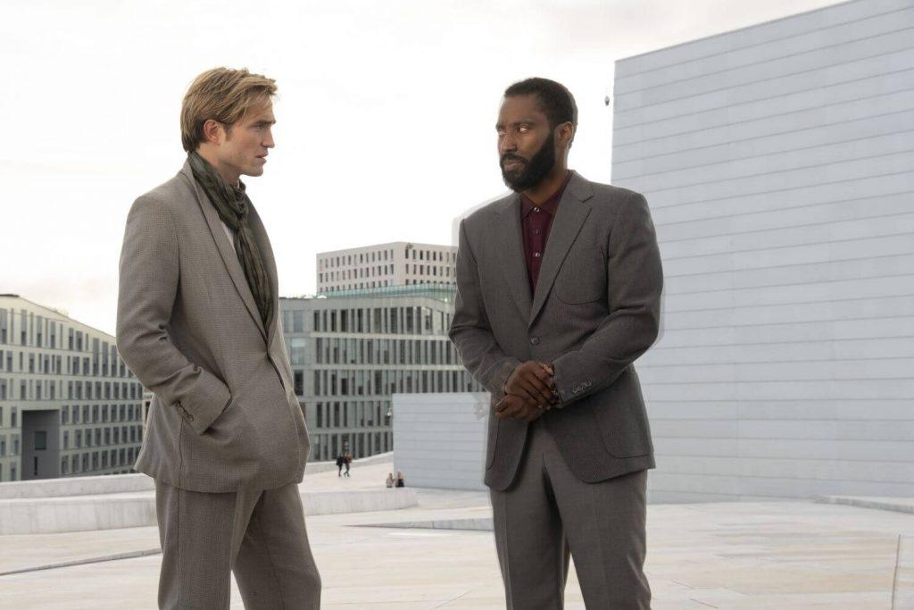 John David Washington en Robert Pattinson