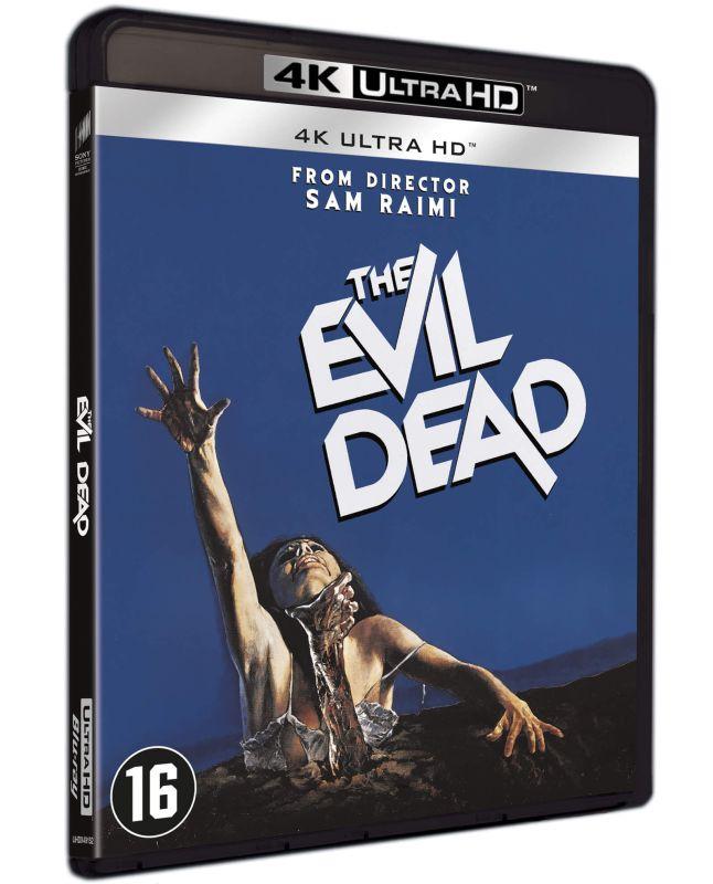 The Evil Dead 4K UHD packshot
