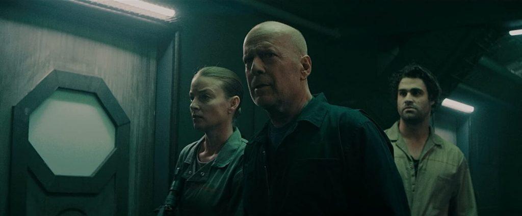 Bruce Willis, Rachel Nichols en Cody Kearsley in Breach