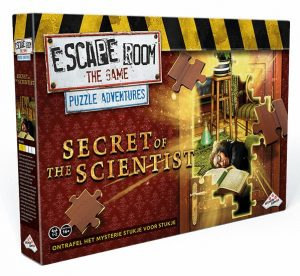 Escape Room The Game: Puzzle Adventures - Secret of the Scientist - packshot