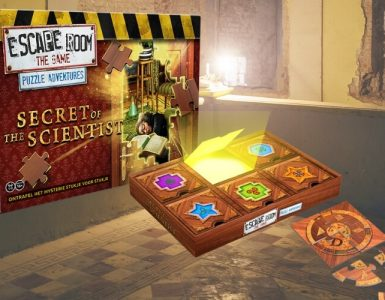 Escape Room The Game: Puzzle Adventures - Secret of the Scientist recensie - Modern Myths