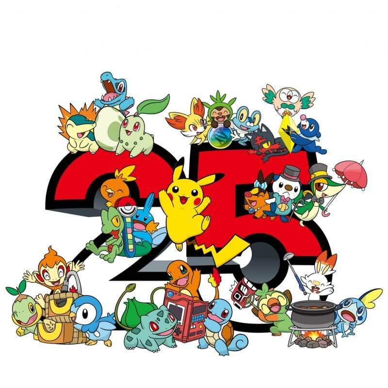 Pokémon 25th anniversary logo