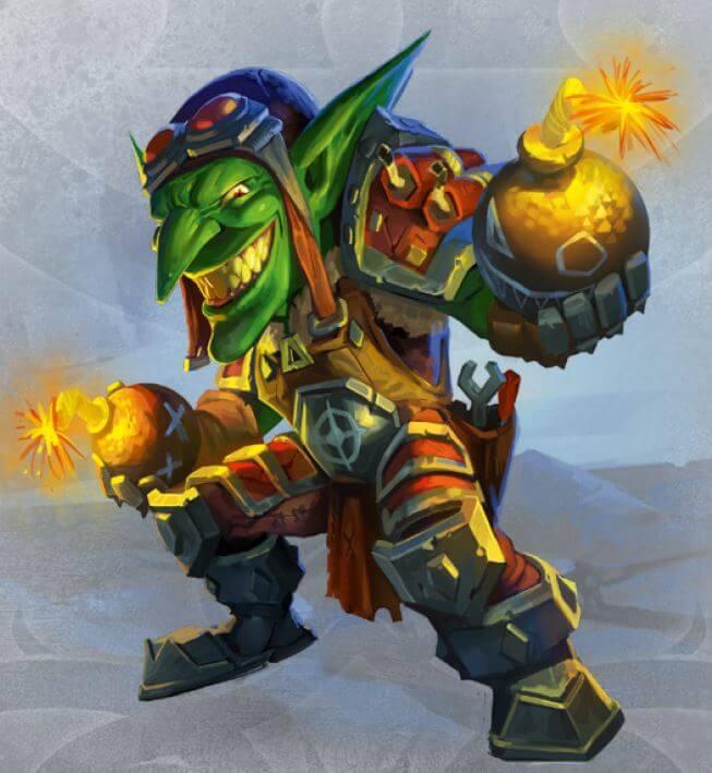 Small World of Warcraft goblin