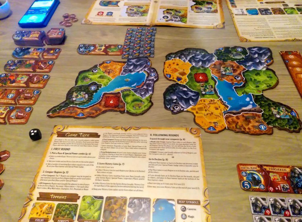 Small World of Warcraft op tafel