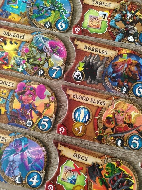 Small World of Warcraft rassen