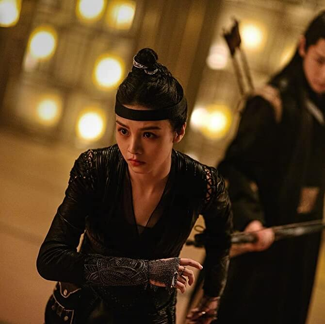 Allen Deng and Jessie Li in Yin-Yang Master