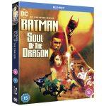Batman: Soul of the Dragon blu-ray