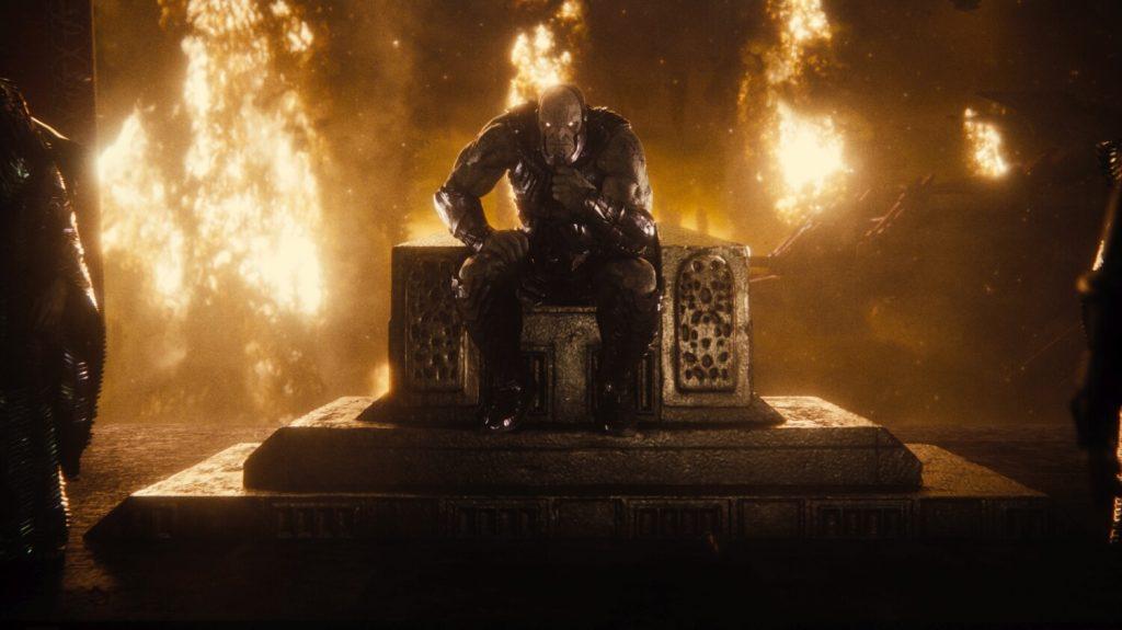 Darkseid broedt
