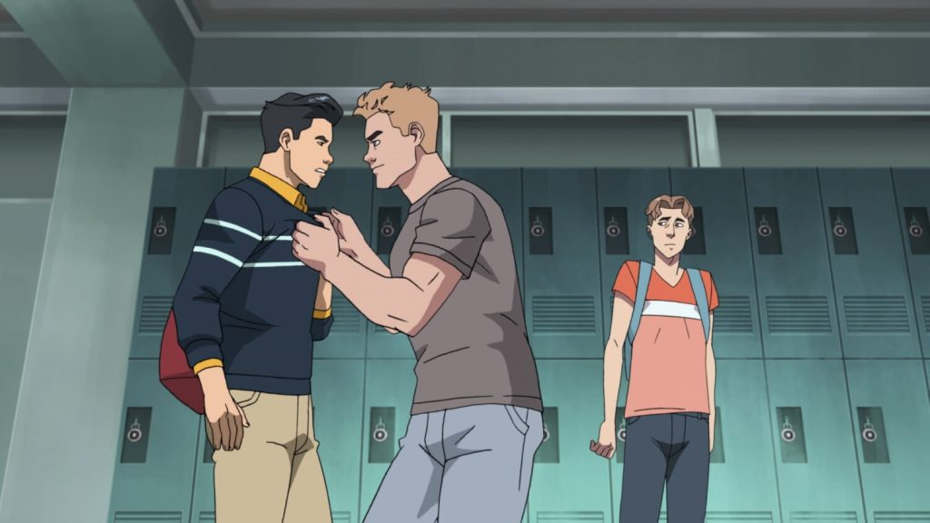 Invincible recensie - high school drama