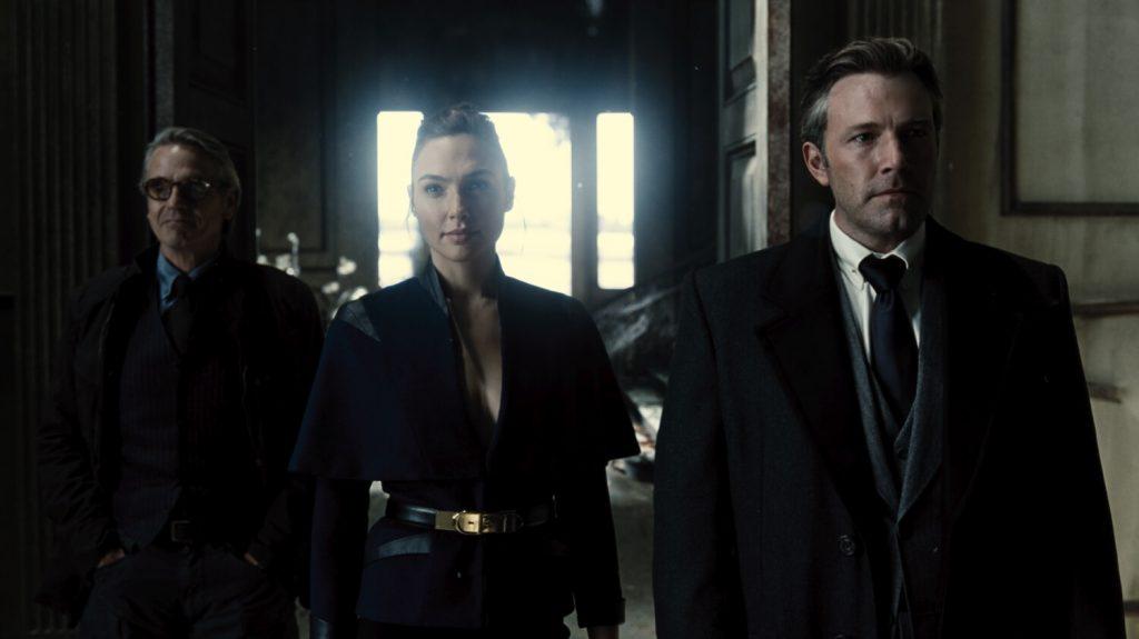 Jeremy Irons, Gal Gadot en Ben Affleck