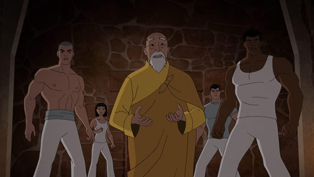O-Sensei en zijn leerlingen