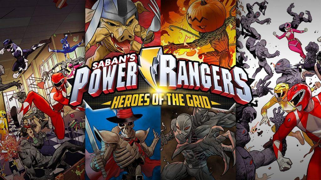 Power Rangers: Heroes of the Grid recensie - banner