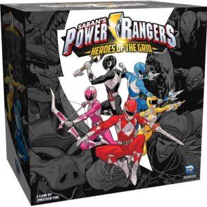 Saban's Power Rangers: Heroes of the Grid recensie - packshot