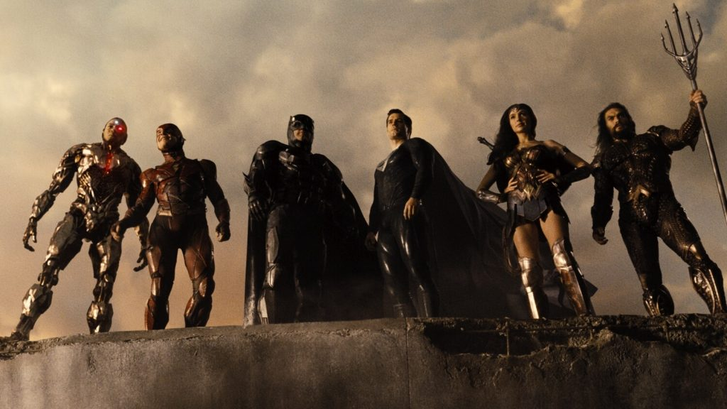 Zack Snyders Justice League compleet