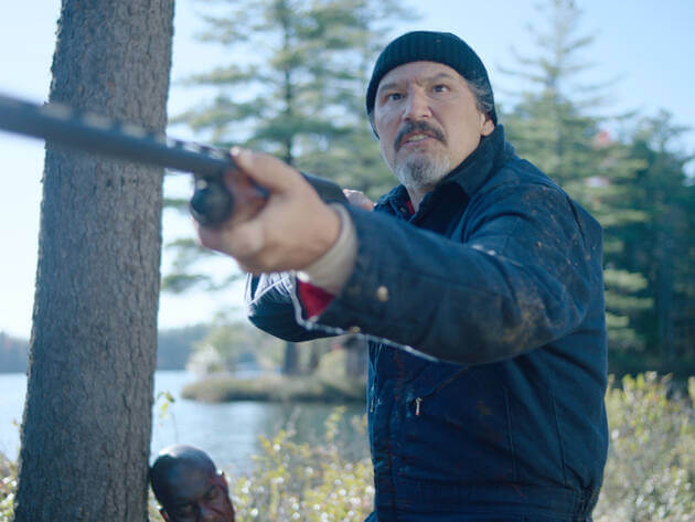 Blood Conscious recensie - Nick Damici als The Stranger