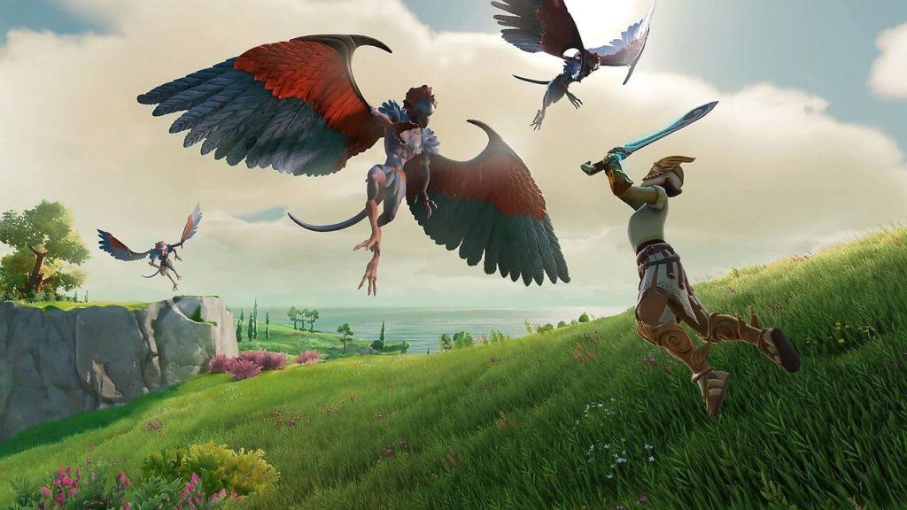 Fenyx versus Harpy